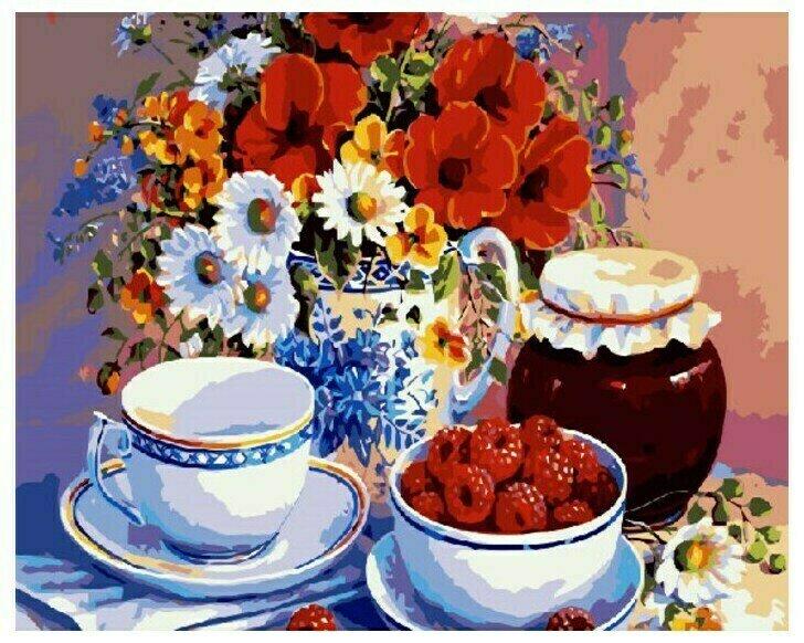 Живопись на холсте Paintboy Original, 40х50 см, GX 7469 Малиновое варенье