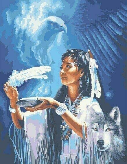 Картина по номерам 40х50 - Духи предков