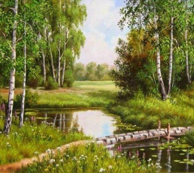 Картина по номерам 40х50 - Живописная природа