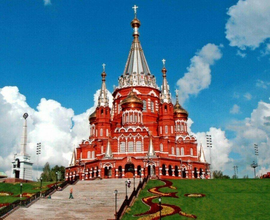 Картина по номерам 40х50 - Свято-Михайловский собор