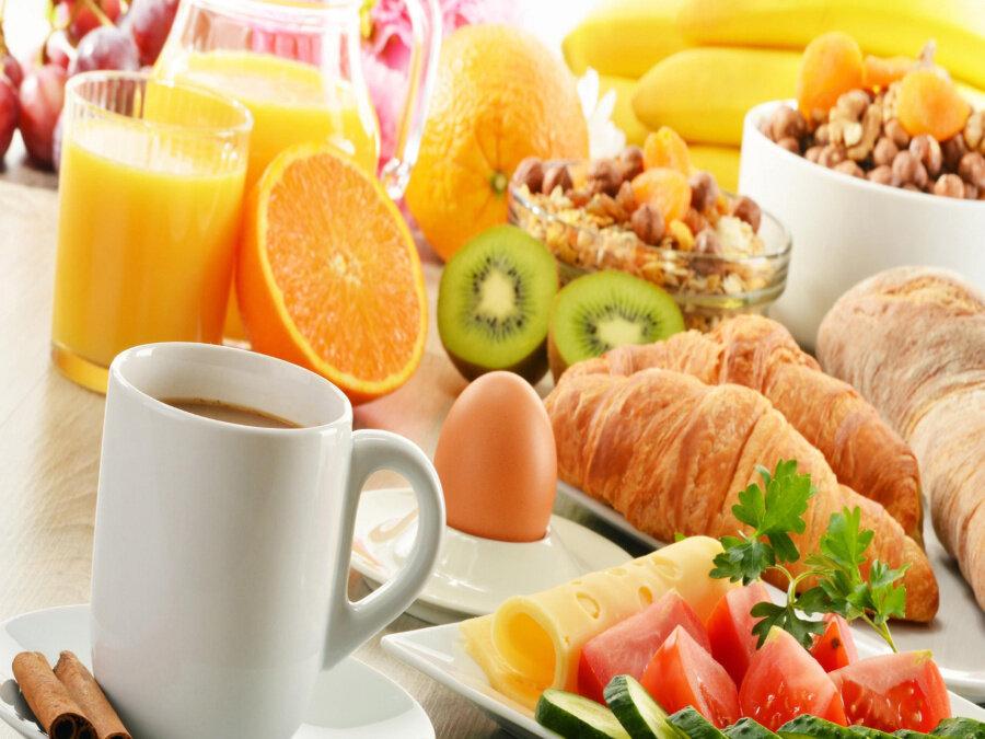 Картина по номерам 40х50 - Утренний завтрак