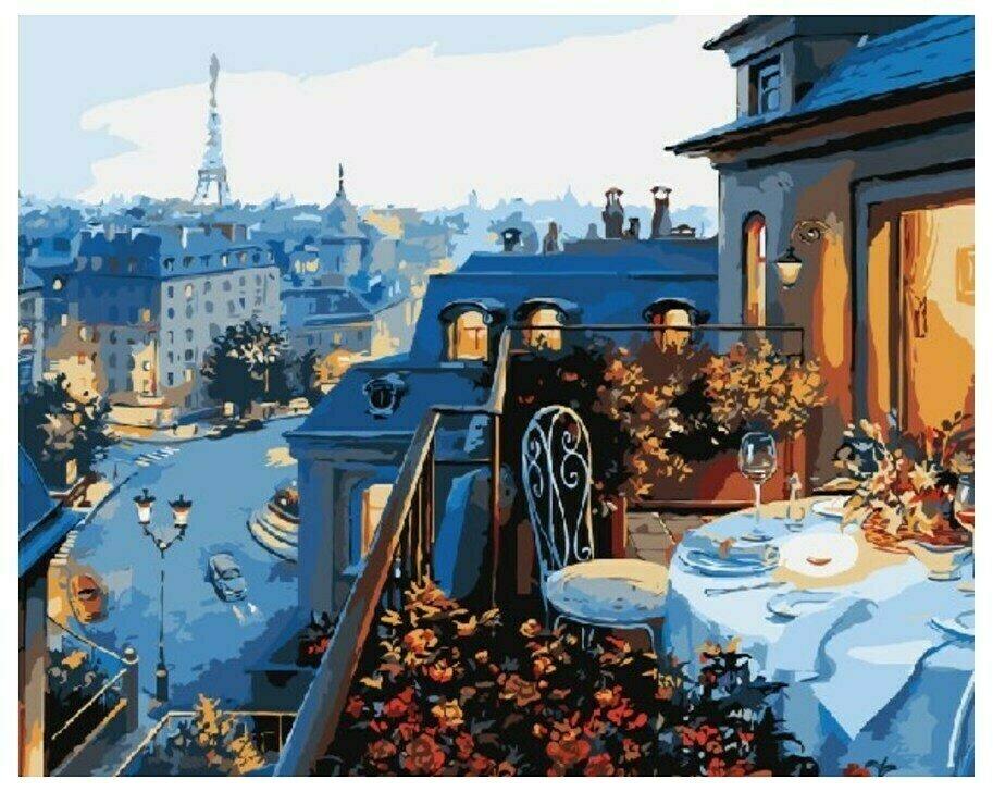 Картина по номерам GX 7255 Романтичный ужин 40*50