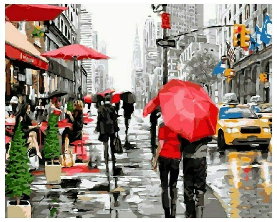 Картина по номерам GX 8091 Городская осень (Макнейл) 40*50