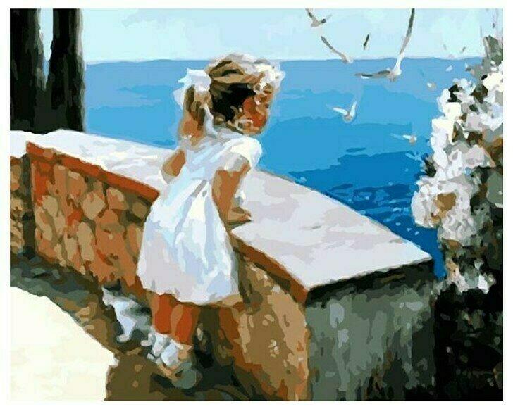 Картина по номерам GX 8102 Очарование лета (худ. В.Волегов) 40*50