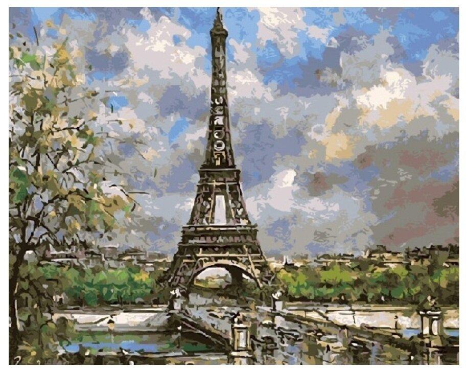Картина по номерам GX 8597 Символ Парижа 40*50