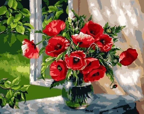 Картина по номерам, GX9298 Paintboy, 40х50см