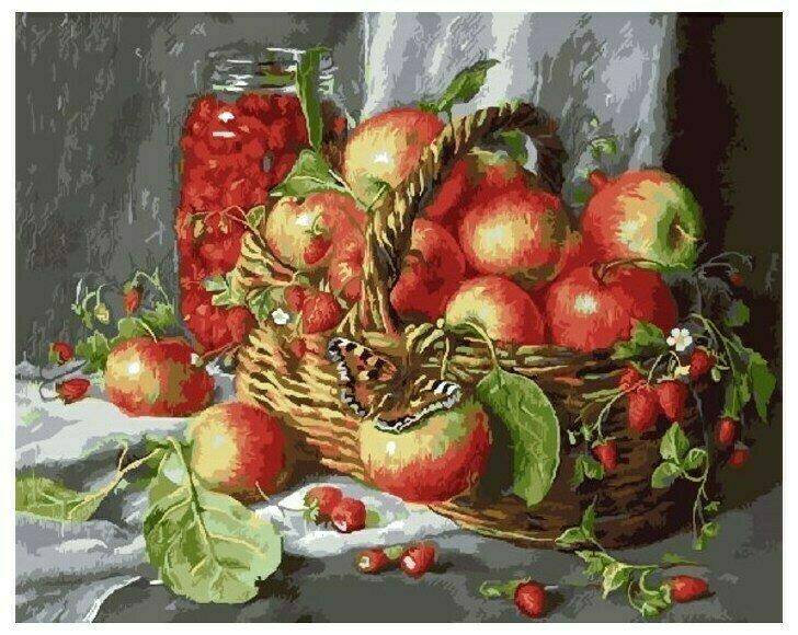 Картина по номерам GX 9455 Щедрые дары природы (худ. Екатерина Калиновская) 40*50