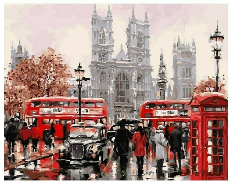"""Картина по номерам Paintboy Original """"Лондон"""" 40х50см"""