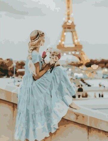 Картина по номерам Paintboy, RDG-3610 Романтичная Франция 40х50см