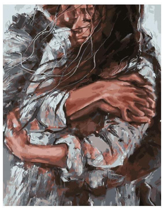 Картина по номерамPK 41023 Тепло любящих рук 40x50 см