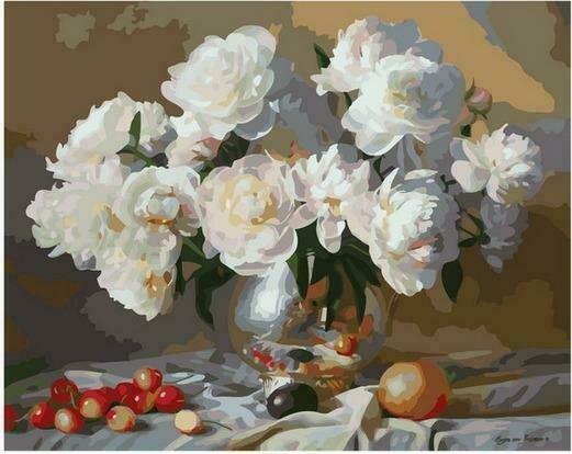 Картина по номерам PK68008 Летний аромат цветов 40х50см