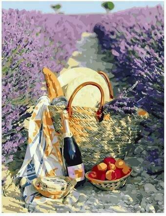 Картина по номерам PK68014 Пикник в Провансе 40х50см