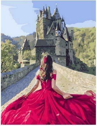 Картина по номерам PK68022 Юная принцесса 40х50см