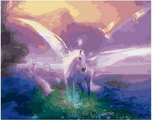 Картина по номерам PK68096 Расправляя крылья 40х50см