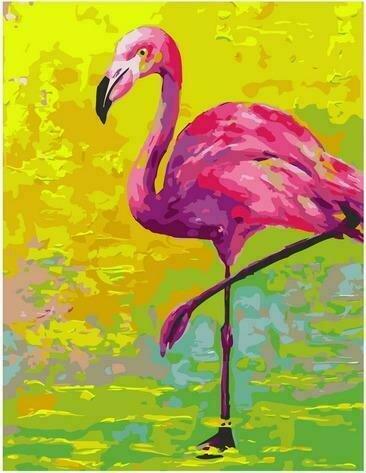 Картина по номерам PK72005 Африканский фламинго 40х50см