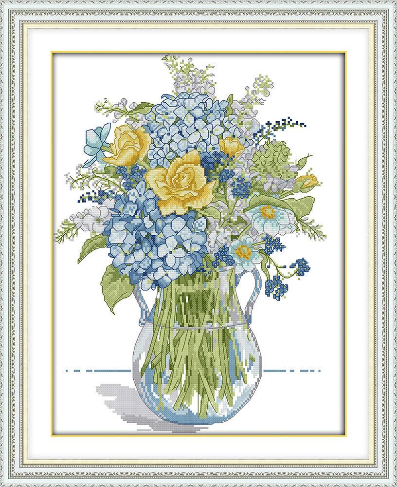 Набор для вышивания H 759 Цветы (5) 33х42