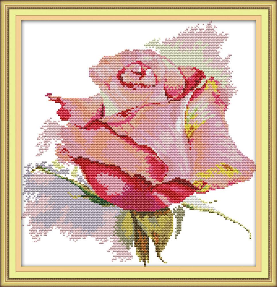 Набор для вышивания H 774 Роза 34х35