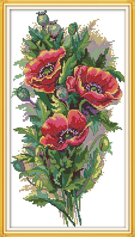 Набор для вышивания H 776 Букет цветов 22х41