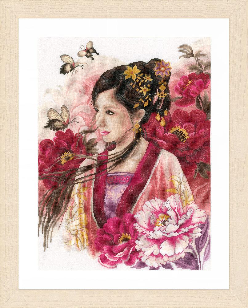 """Набор для вышивания """"LANARTE"""" №117PN-0170199 """"Восточная девушка в розовом"""""""