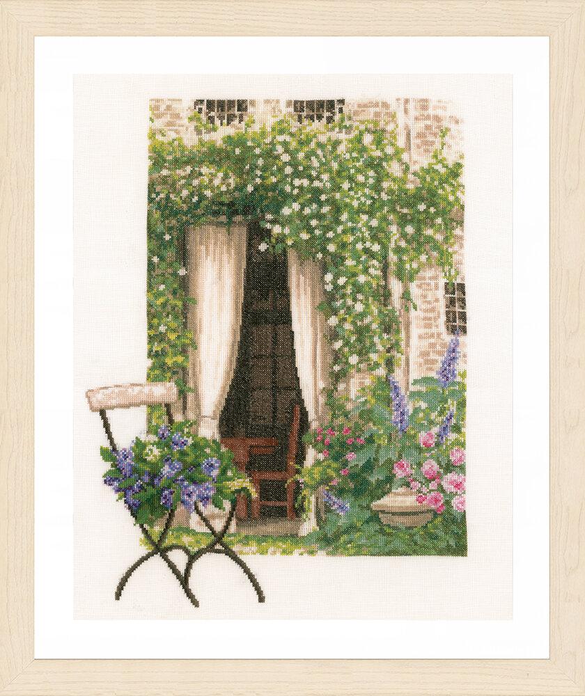 """Набор для вышивания """"LANARTE"""" №120PN-0178458 """"Вид на наш сад"""""""