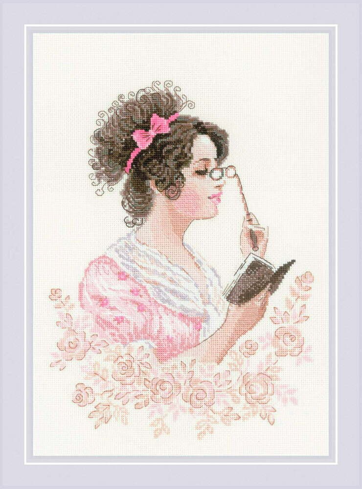 """Набор для вышивания """"RIOLIS"""" 1792 """"Книжный клуб"""", 21х30см"""