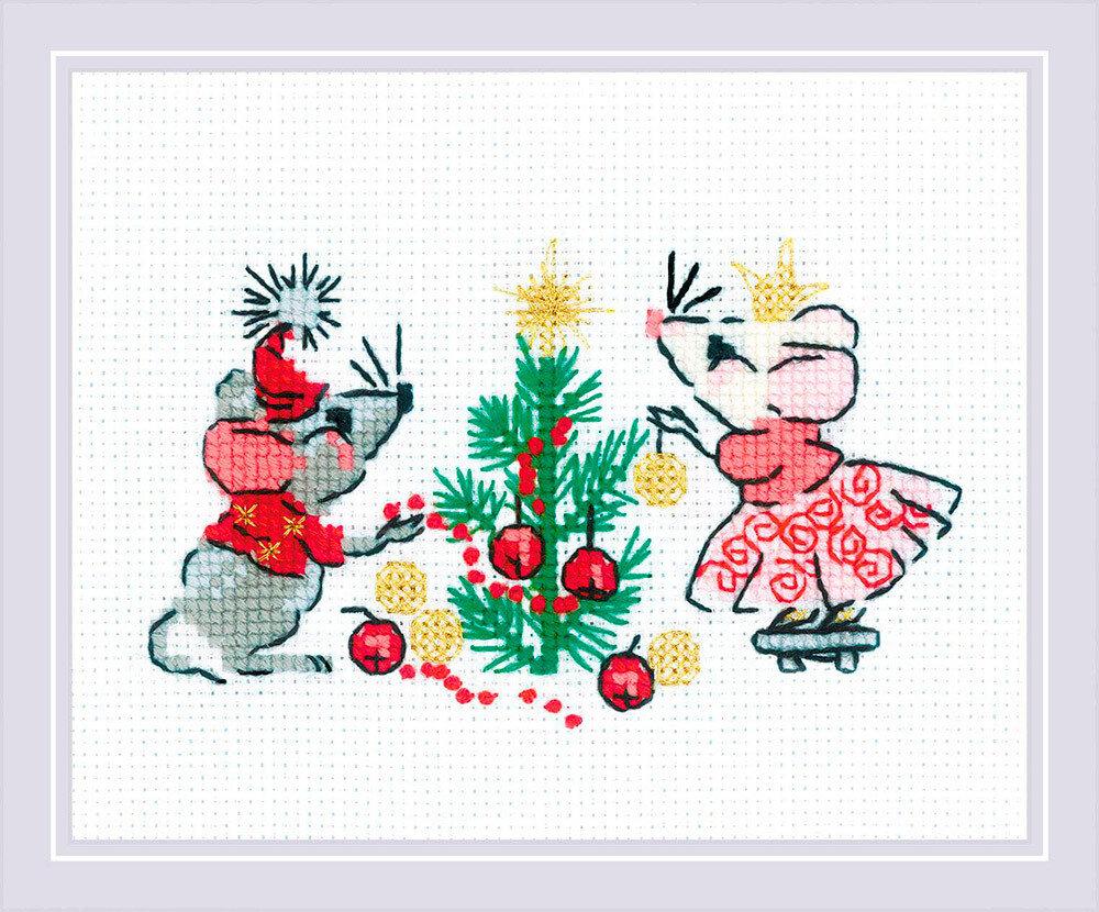 """Набор для вышивания """"RIOLIS"""" 1823 """"Ожидание праздника"""", 13х16см"""