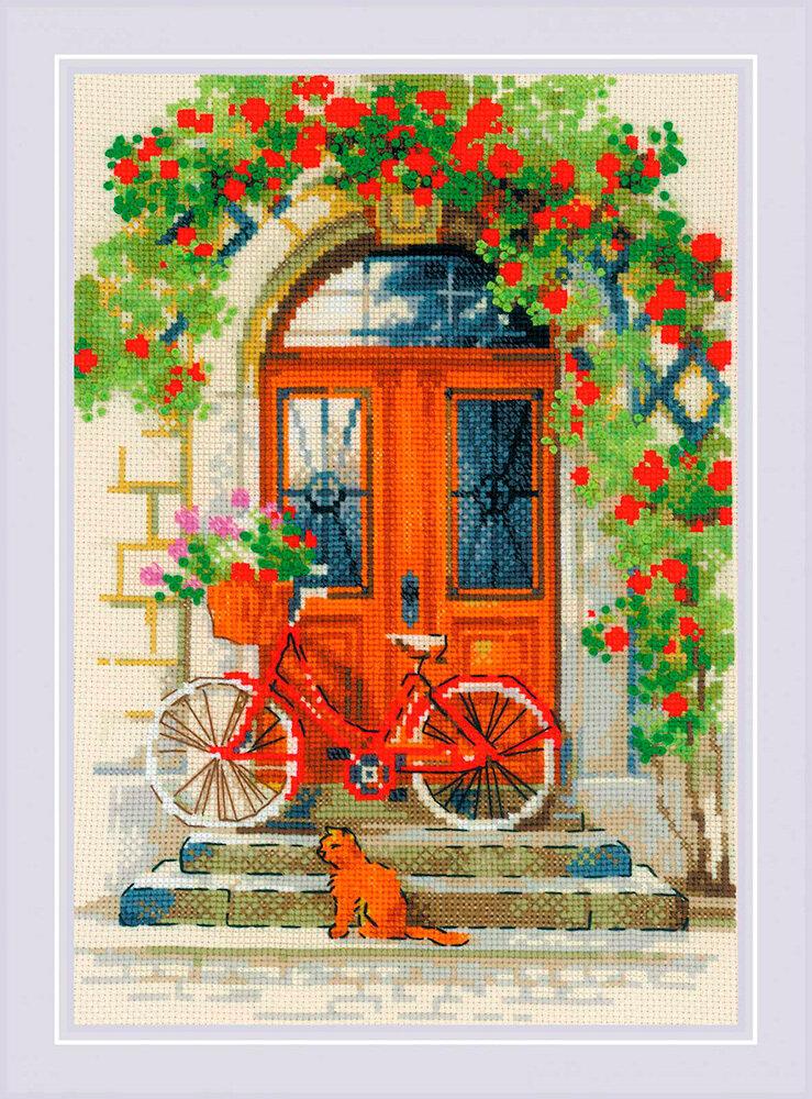 """Набор для вышивания """"RIOLIS"""" 1831 """"Дверь в Италию"""", 21х30см"""