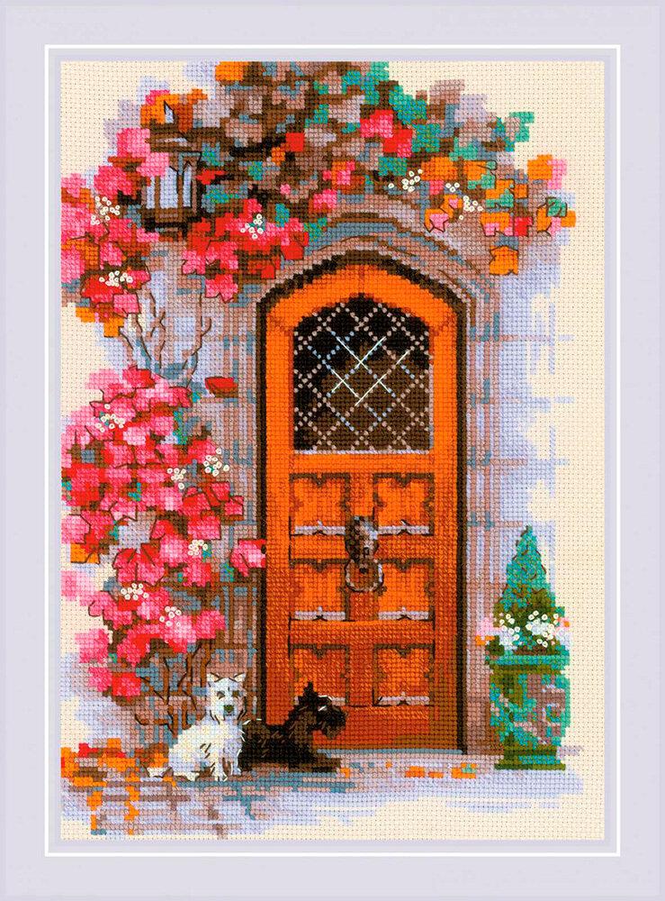 """Набор для вышивания """"RIOLIS"""" 1832 """"Дверь в Шотландию"""", 21х30см"""