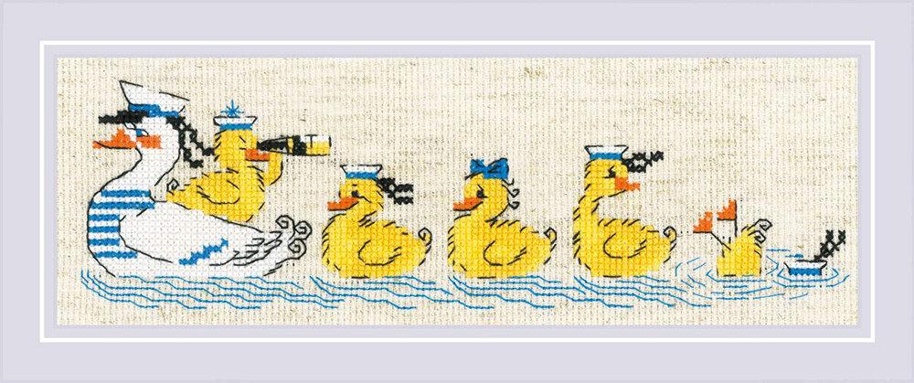 """Набор для вышивания """"RIOLIS"""" 1865 """"По морям, по волнам"""", 24х8см"""