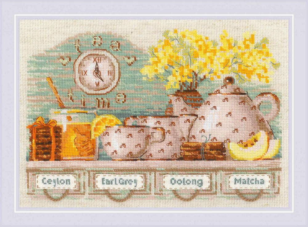 """Набор для вышивания """"RIOLIS"""" 1873 """"Tea Time"""", 30х21см"""