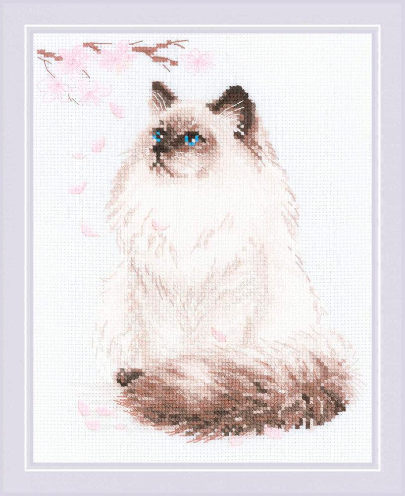 "Набор для вышивания ""RIOLIS"" 1878 ""Мяу-дзен"", 24х30см"