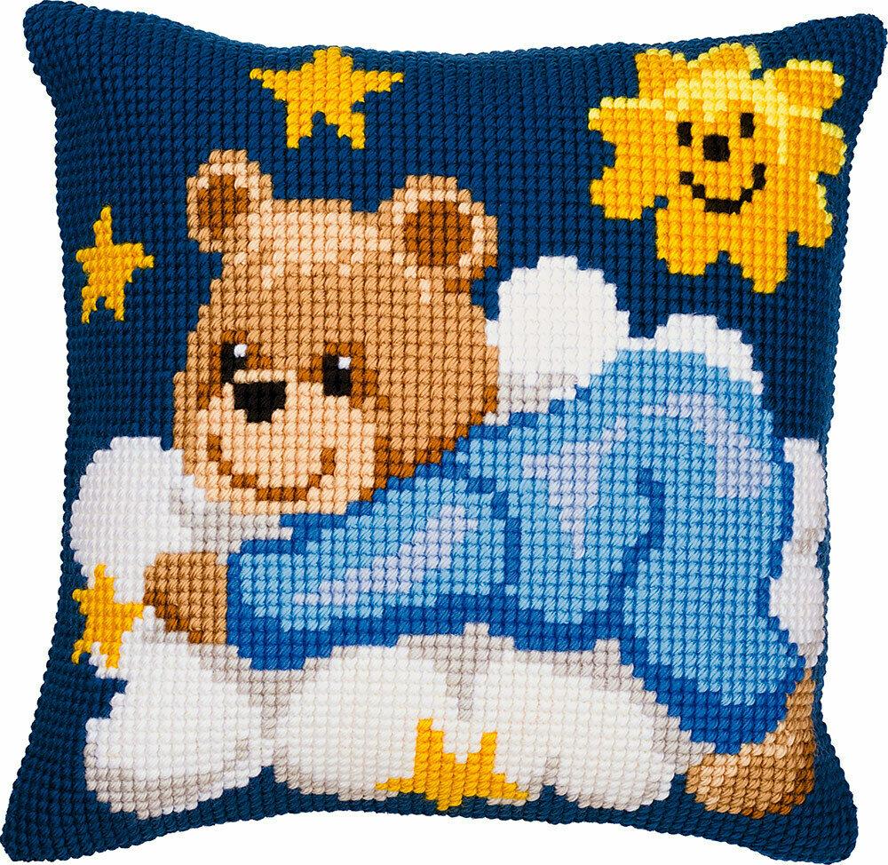 """Набор для вышивания """"VERVACO"""" PN-0008573""""Синий медведь на облаке"""""""