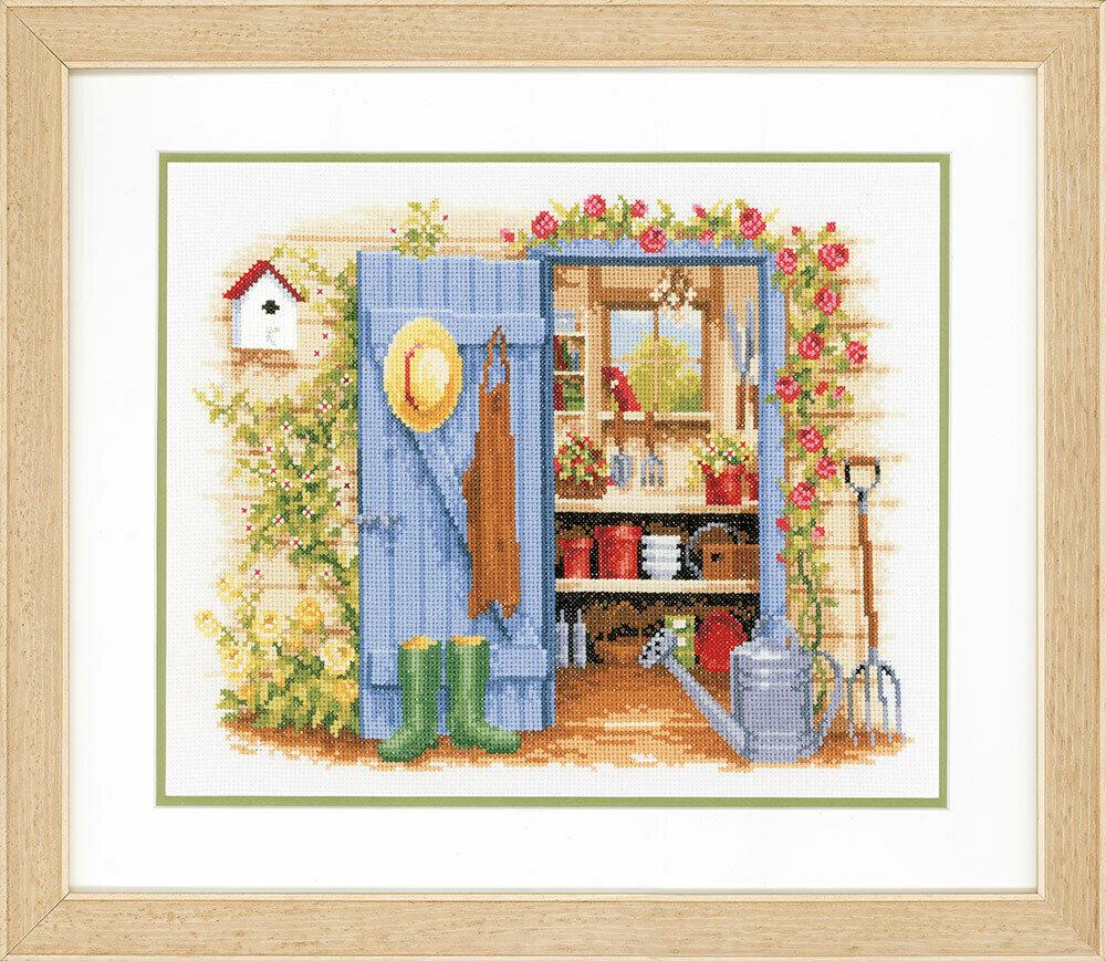 """Набор для вышивания """"VERVACO"""" PN-0146451""""Мой садовый сарай"""""""