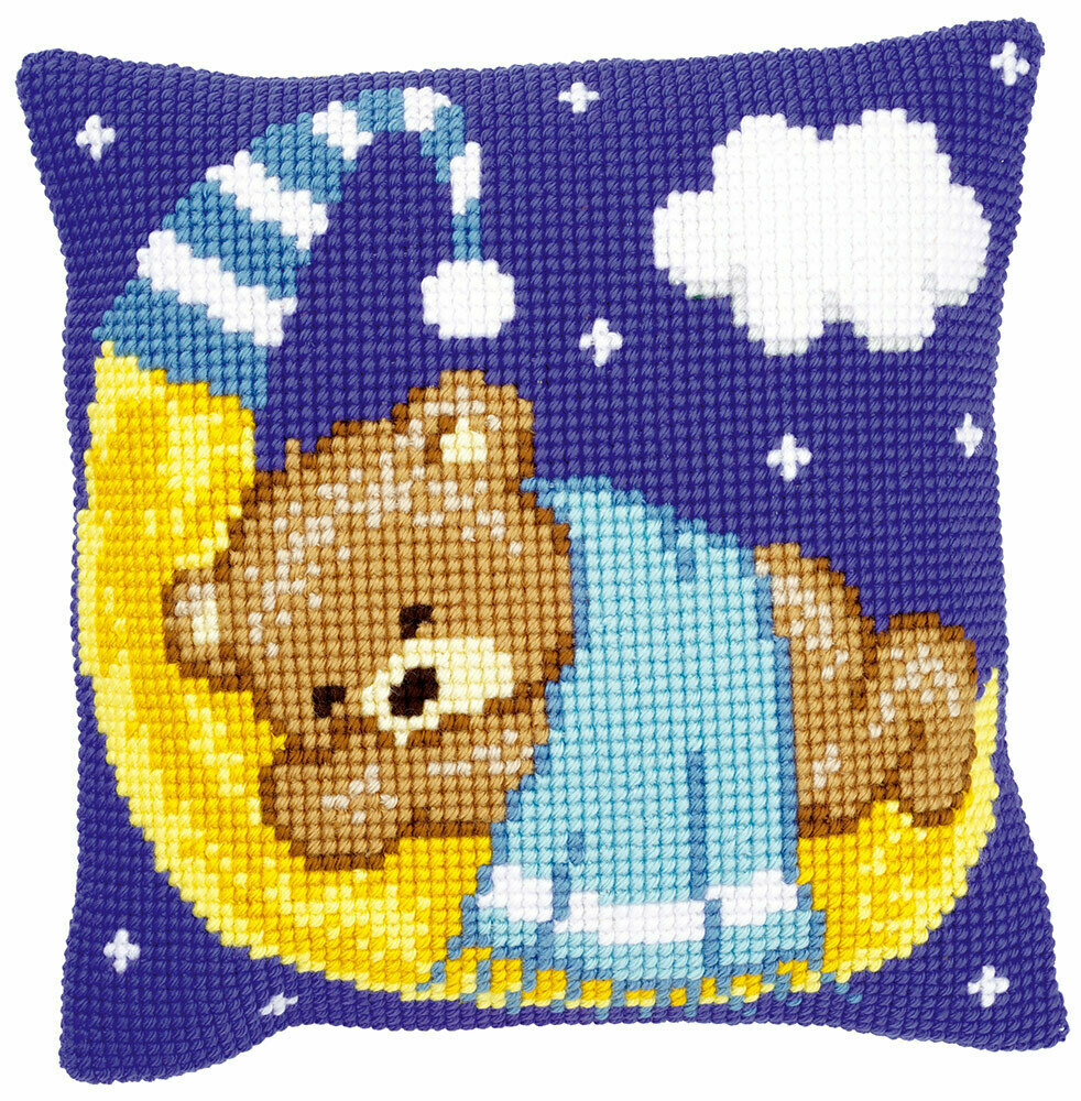 """Набор для вышивания """"VERVACO"""" PN-0148196""""Медведь на голубой луне"""""""