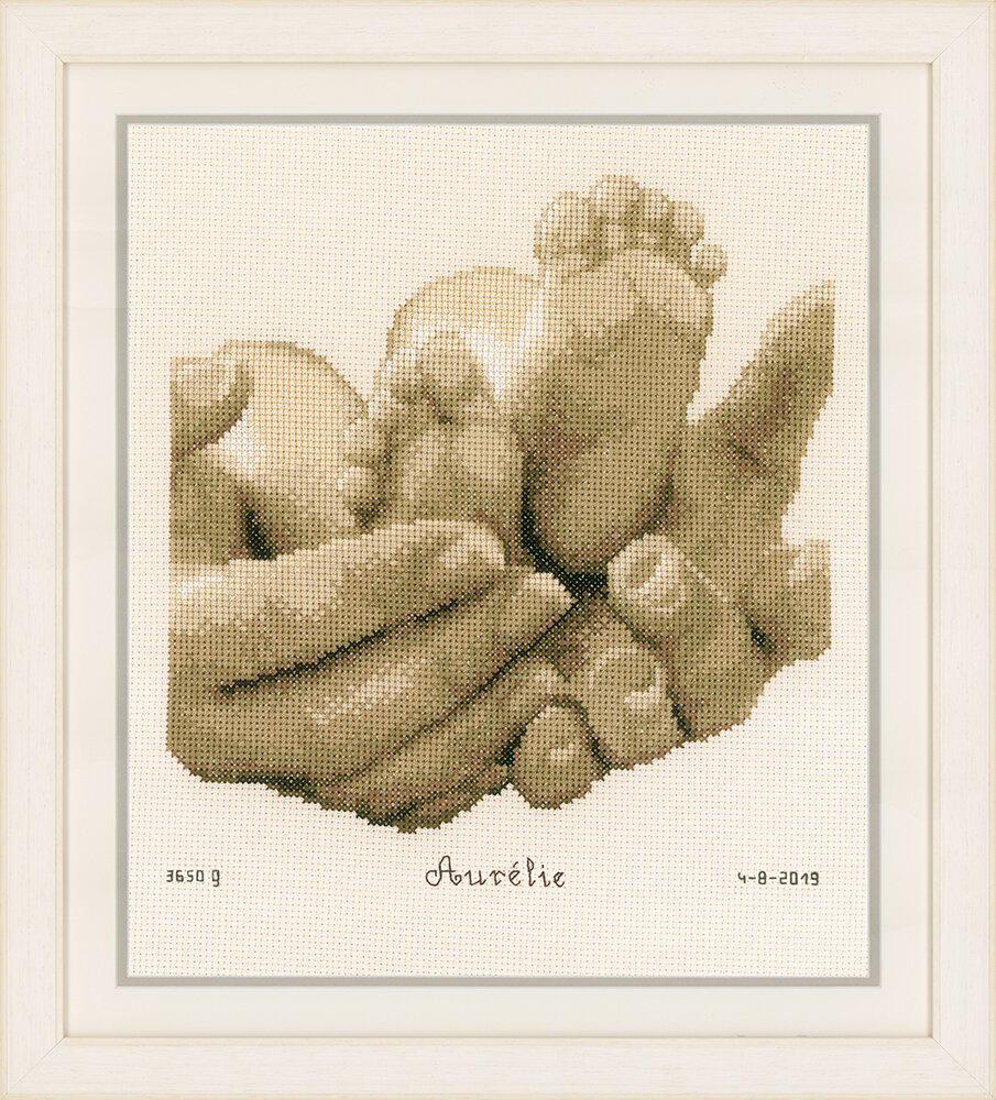 """Набор для вышивания """"VERVACO"""" PN-0153837""""Детские ножки"""""""