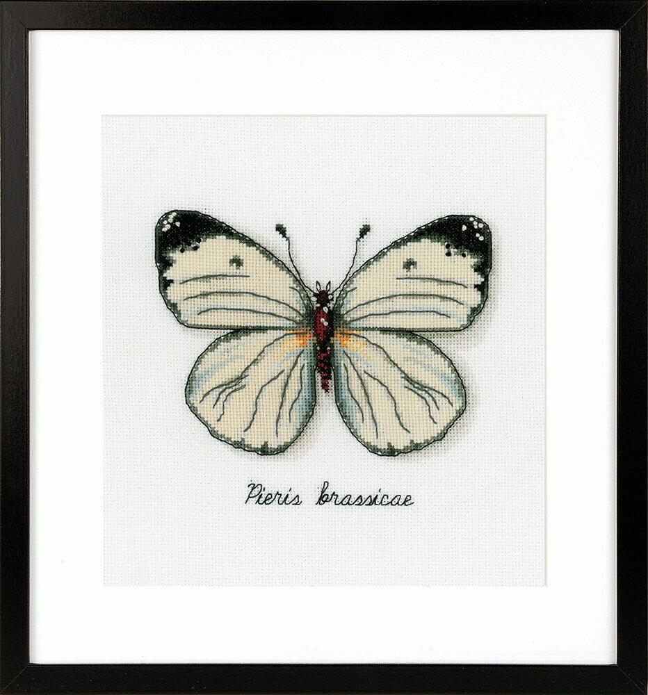 "Набор для вышивания ""VERVACO"" PN-0165233""Белая бабочка"""