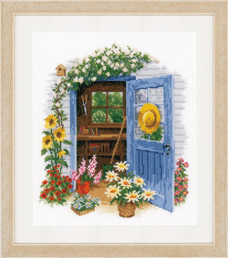 """Набор для вышивания """"VERVACO"""" PN-0169585""""Мой садовый сарай"""""""
