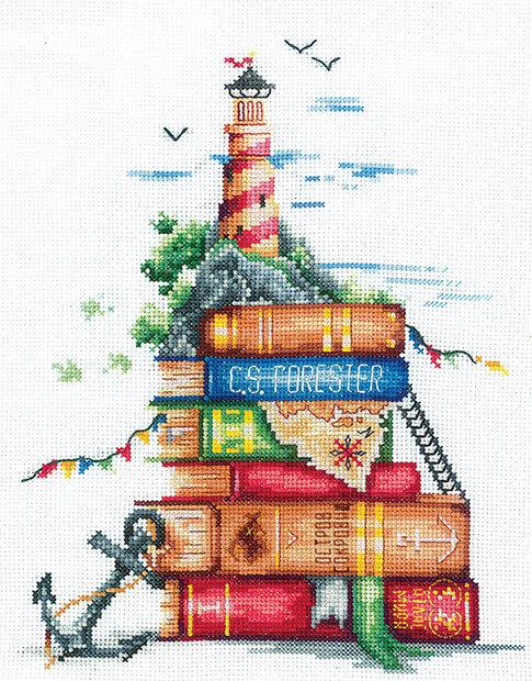 """Набор для вышивания """"ИН"""" №37И-03 """"Морские истории"""" (хлопок) 18 х 22 см"""