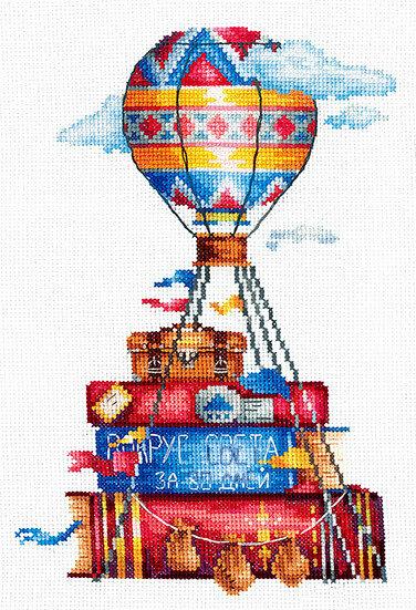 """Набор для вышивания """"ИН"""" №37И-04 """"Дорожные истории"""" (хлопок) 15 х 21.5 см"""