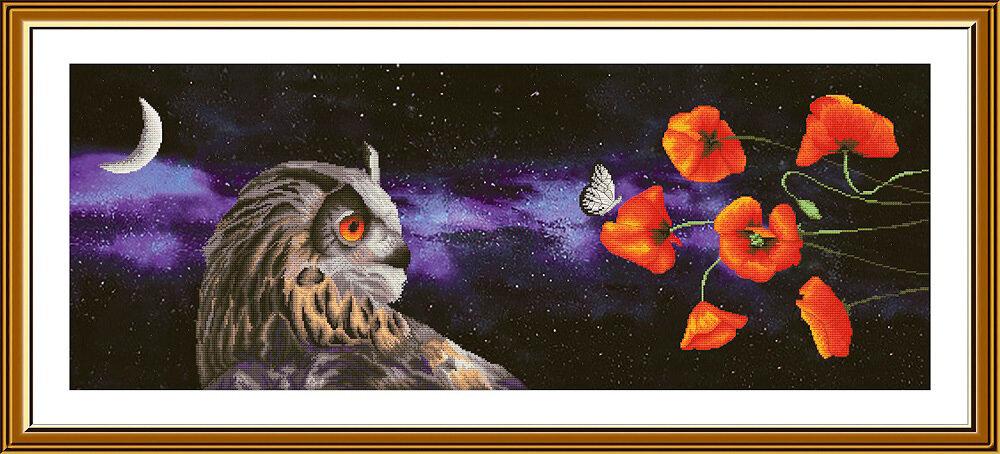 """Набор для вышивания """"Нова Слобода"""", 1501 """"Сон бабочки"""" 28.5х78см"""