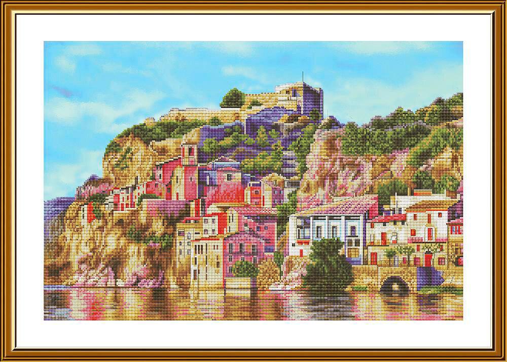 """Набор для вышивания """"Нова Слобода"""", 3282 """"Воспоминание об Альгамбре"""" 28.3х42.8см"""