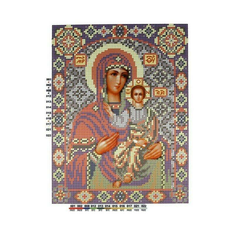 """Набор для вышивания """"Нова Слобода"""", БИС 9056 """"Богородицасмоленская"""""""