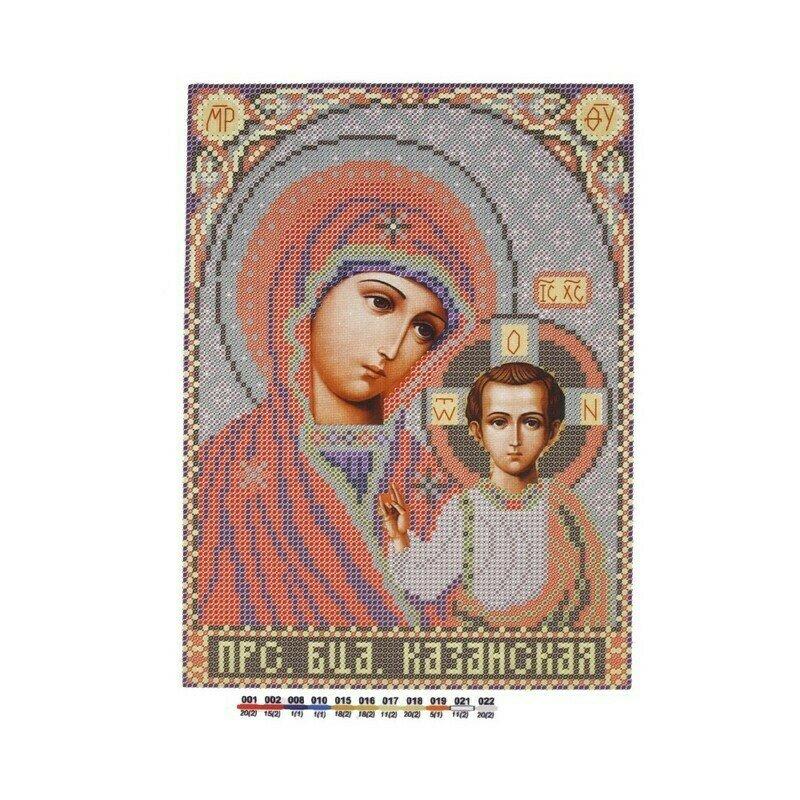 """Набор для вышивания """"Нова Слобода"""", БИС 9062 """"Богородица Казанская"""""""