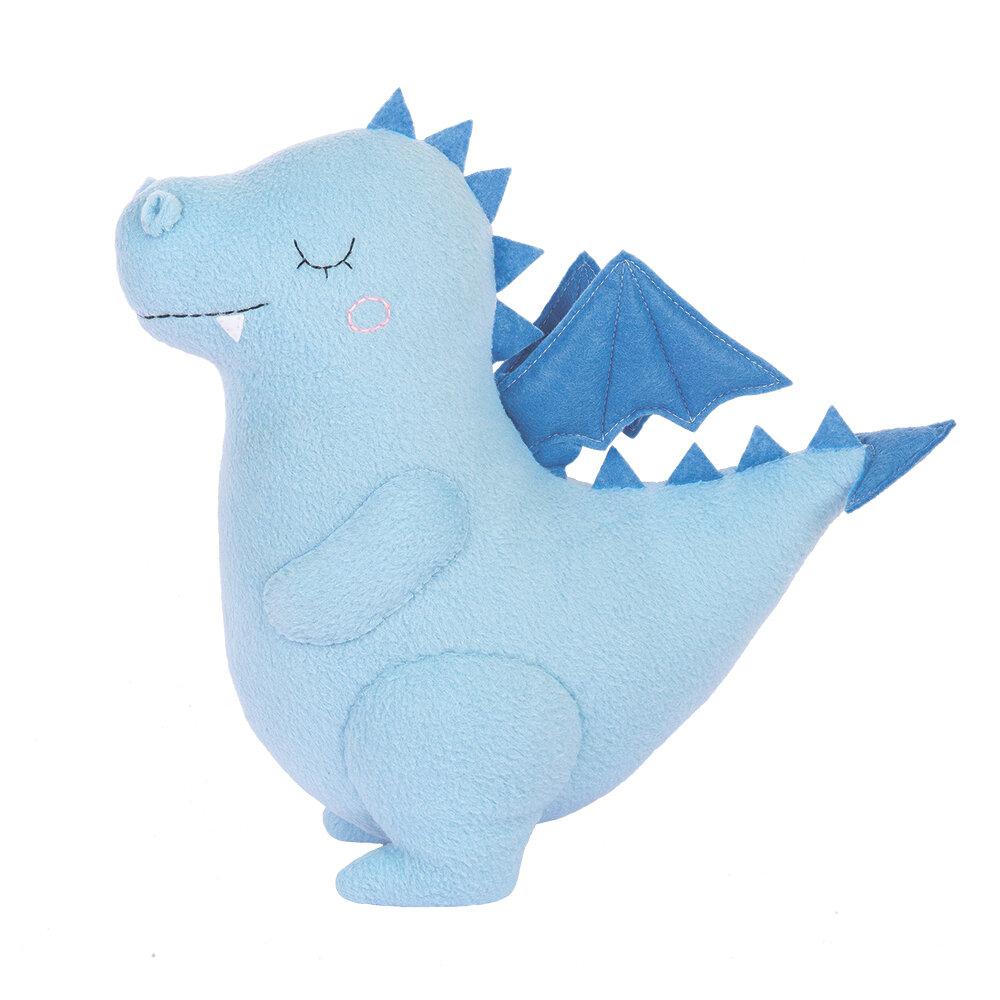"""Набор для изготовления игрушек """"Miadolla"""" PT-0295 Сплюшка Дракон голубой"""