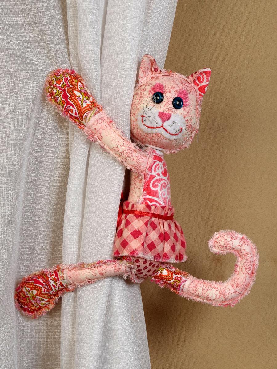 Набор для создания игрушки (магнит в лапках) ПМ-802 Кошечка
