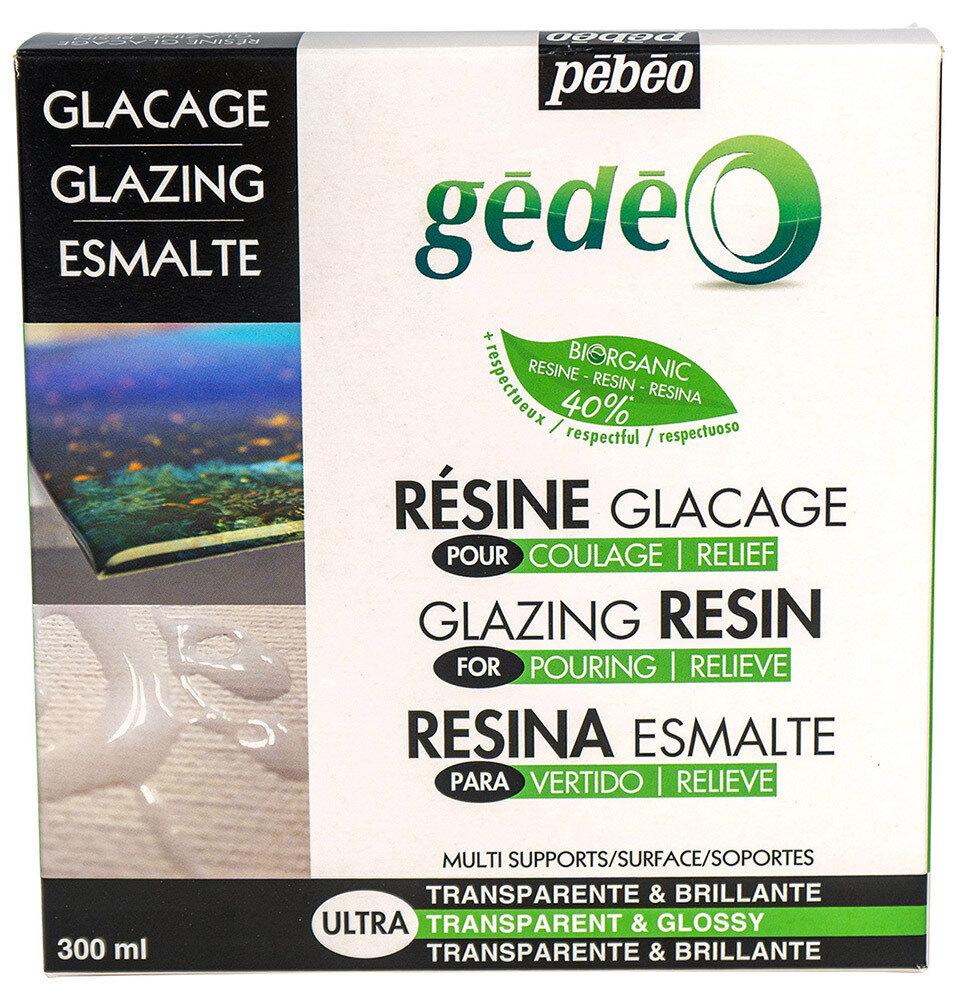 Эпоксидная био-смола с эффектом глазури biOrganic Gedeo 300 мл