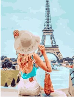 Картина по номерам PK 30071 Увидеть Париж 40х50 см
