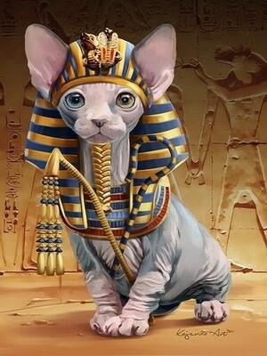 Картина по номерам 40х50 - Маленький фараон