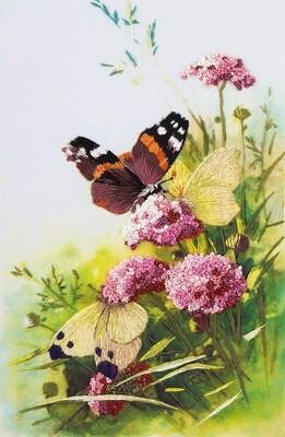 """Набор для вышивания """"PANNA"""" """"Живая картина"""" JK-2092 ( ЖК-2092 ) """"Бабочки"""""""