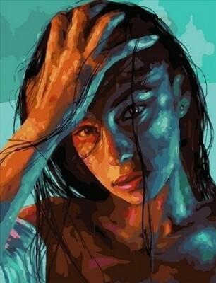 Картина по номерам Paintboy, RDG-4278 Портрет 40х50см
